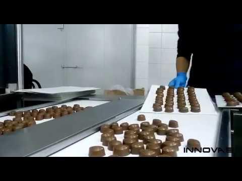 Chocolate Pick and Place System - Çikolata Dizme Robotu - OMRON ADEPT TECHNOLOGY