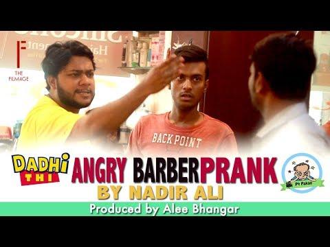   Angry Barber   Funny Prank By Nadir Ali & Sanata In   P4 Pakao   2017
