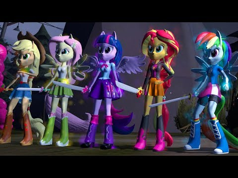 Crystal Guardian Fashion & Style Video Games with EQUESTRIA GIRLS