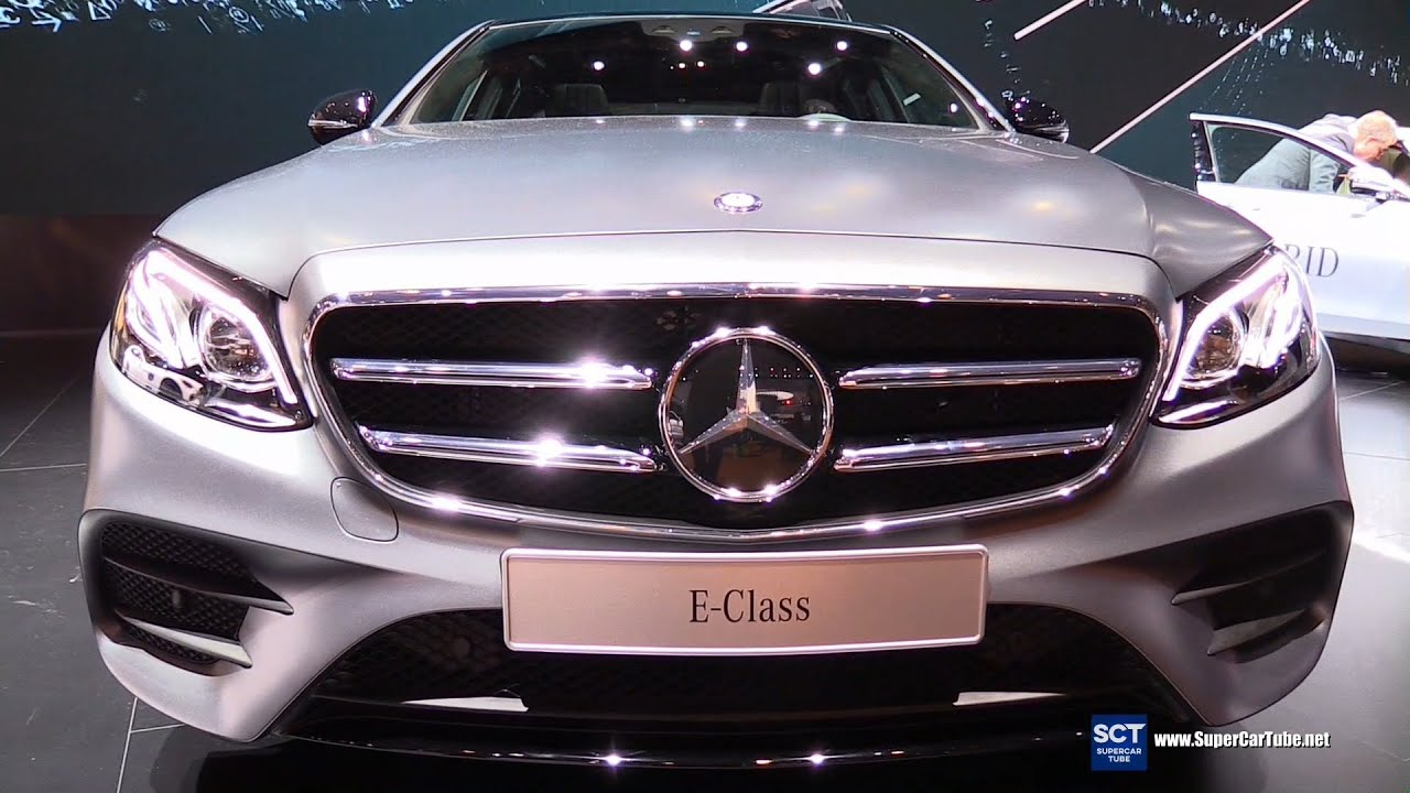 2017 mercedes e class e400 4matic exterior interior walkaround debut at 2016 detroit auto. Black Bedroom Furniture Sets. Home Design Ideas