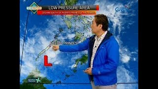 24 Oras: Weather update as of 7:20 p.m. (February 14, 2018)