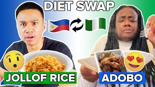 A Filipino &amp A Nigerian Swap Meals For 24 Hours
