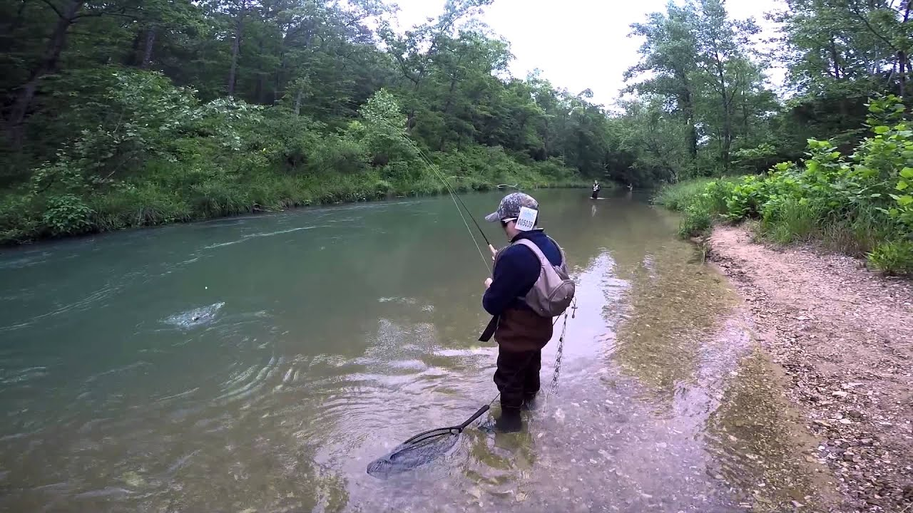 fly fishing at montauk state park june 2015 youtube