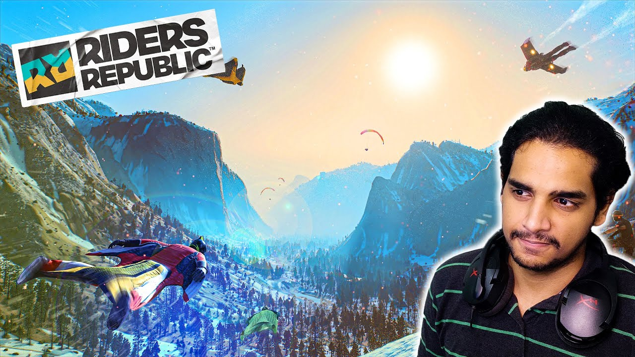 i CAN FINALLY FLY in RIDERS REPUBLIC !! Malayalam