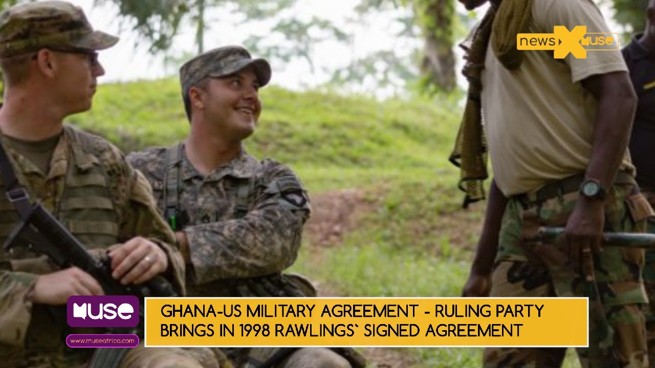 Ghana Us Military Agreement Ruling Party Brings In 1998 Rawlings