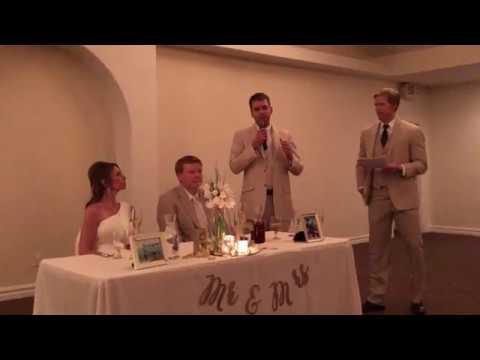 Best Man Speech For Chris's Wedding