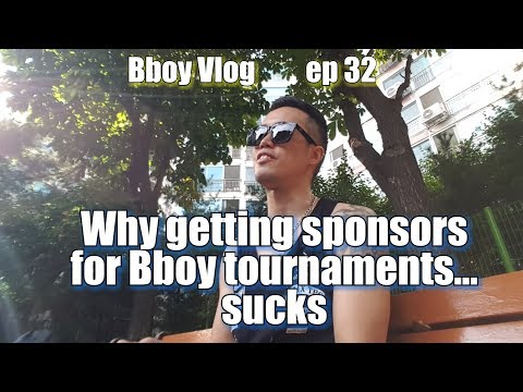 Why getting Sponsors for Bboy tournaments... SUCKS | Bboy Vlog | Ep 32