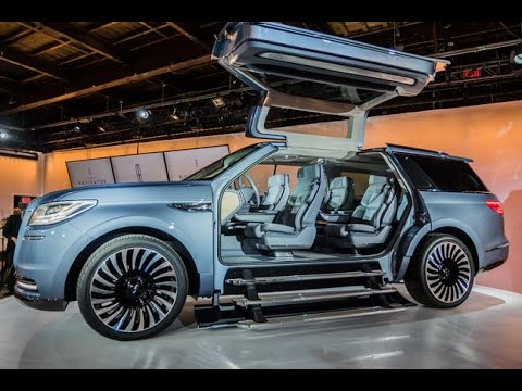 Lincoln Navigator Concept Sprouts Gullwing Doors And An