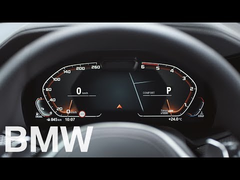 The new fully digital Instrument Cluster - Operating System 7 - BMW How-To