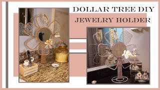 Dollar Tree DIY Farmhouse Style or Glam Earring / Jewelry Holder and Giveaway