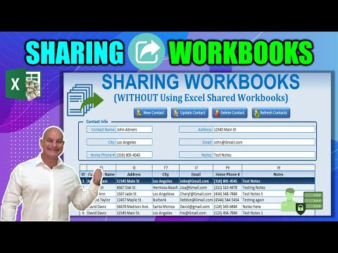 How To Create A MULTI-USER, Macro Enabled,  Excel Workbook WITHOUT Using 'Share Workbook'