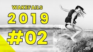 Best Wakeboard Fails 2019 (Pt. 2) by Wakefails.com