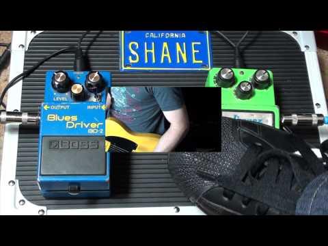 Ibanez Tubescreamer TS9 Vs BOSS Blues Driver BD-2 Pedal