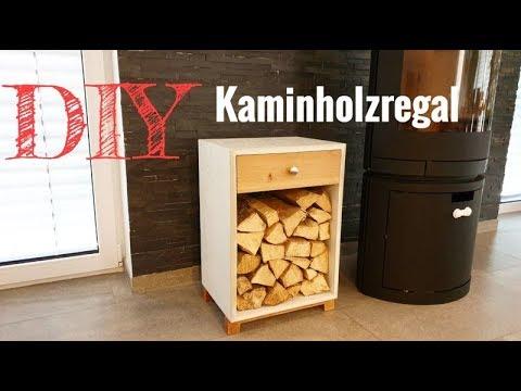 Ein Kaminholzregal Aus Beton Selber Bauen Diy Holzlege Youtube