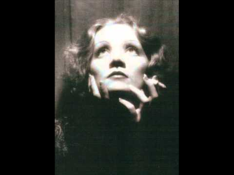 Marlene Dietrich - Falling In Love Again - In German 1930