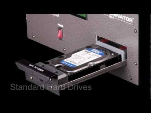 HD-2 Hard Drive and Tape Degausser