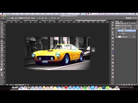 Уроки фотошопа#2 Как сделать фото черно белым в фотошопе