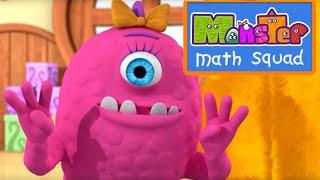 Monster Math Squad | FULL EPISODE | Monster Hat Mayhem | Learning Numbers Series