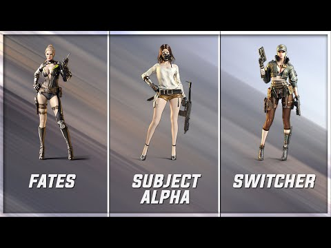 CrossFire 2.0 : SUBJECT ALPHA Vs (VVIP) Characters [VVIP Character Comparison]