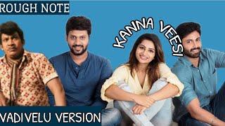 Kanna Veesi | Vadivelu Version | Rio | Ashwin | Nakshathra | Punith