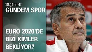 A Milli Takım'ın EURO 2020'deki muhtemel rakipleri - Gündem Spor 18.11.2019 Pazartesi