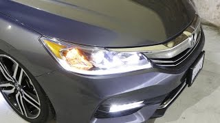 ijdmtoy philips luxeon led headlight bulb installation and demo