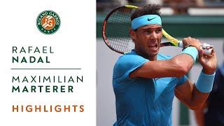 Rafael Nadal vs Maximilian Marterer - Round 4 Highlights I Roland-Garros 2018