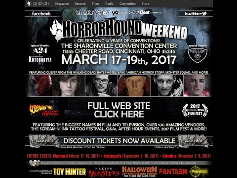 Horrorhound Weekend Cincinnati 2017