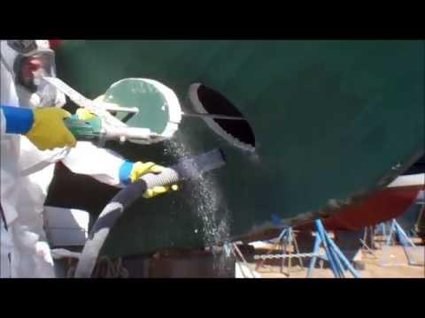 "Jamestown & Newport Ferry ""Katherine"" Bow Thruster Install  at Conanicut Marine Services"