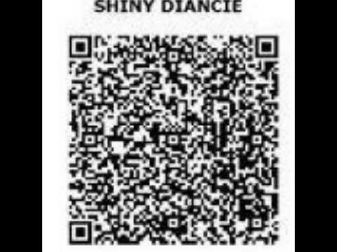 Shiny diancie code