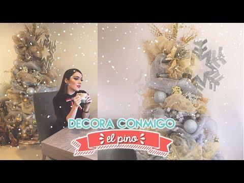 DECORA CONMIGO EL PINO NAVIDEÑO | #NAVIDADCONMONILLACA