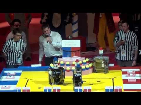 2013 - INSA Toulouse vs Space Crackers - Coupe de France de robotique 2013
