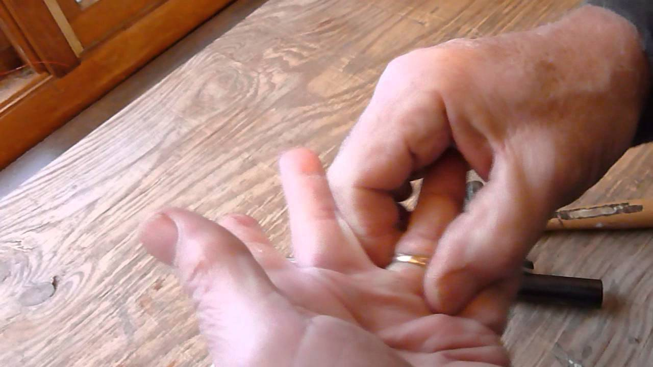 A Quick and Easy Way to Enlarge a Ring - YouTube