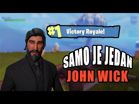 FORTNITE :: EP. 48 :: SAMO JE JEDAN JOHN WICK - Fortnite Balkan (PC)