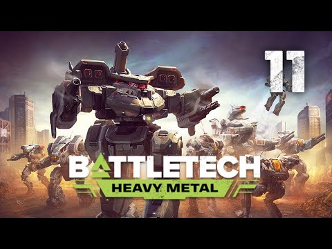 ALL The Salvage!   Battletech Heavy Metal DLC Playthrough   Episode 11