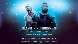 'THE MOUNTAIN' - THOR BJORNSSON v STEVEN WARD / WORLD'S STRONGEST MAN TAKES ON PRO-BOXER (DUBAI)