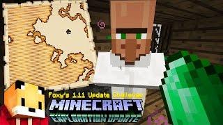 Minecraft 1.11 - WOODLAND EXPLORER MAP - Minecraft 1.11 Exploration Update Challenge [8]