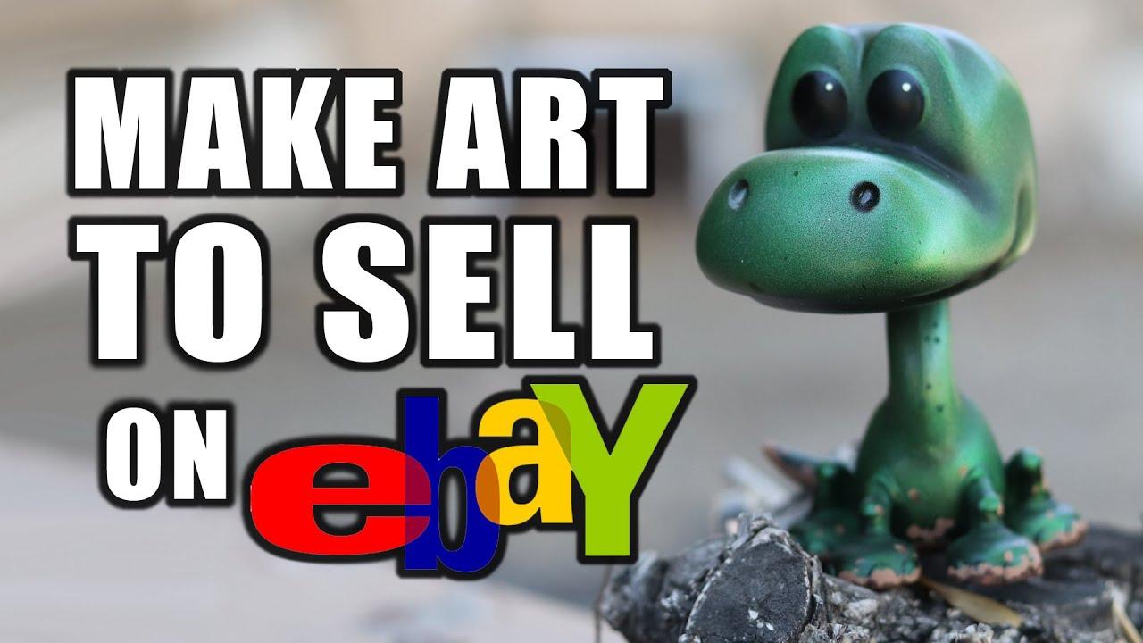 Make Art to Sell on Ebay | Custom Evilos Funko Pop!