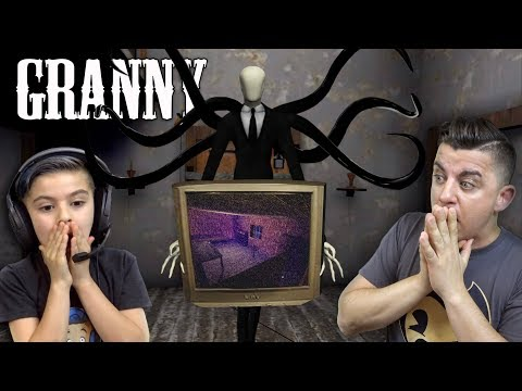 SLENDERMAN IS WATCHING US ON GRANNY'S TV! Granny Horror Game