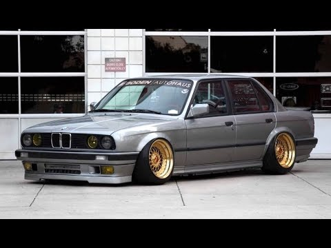 560 WHP and Bagged Turbo BMW E30 - One Take