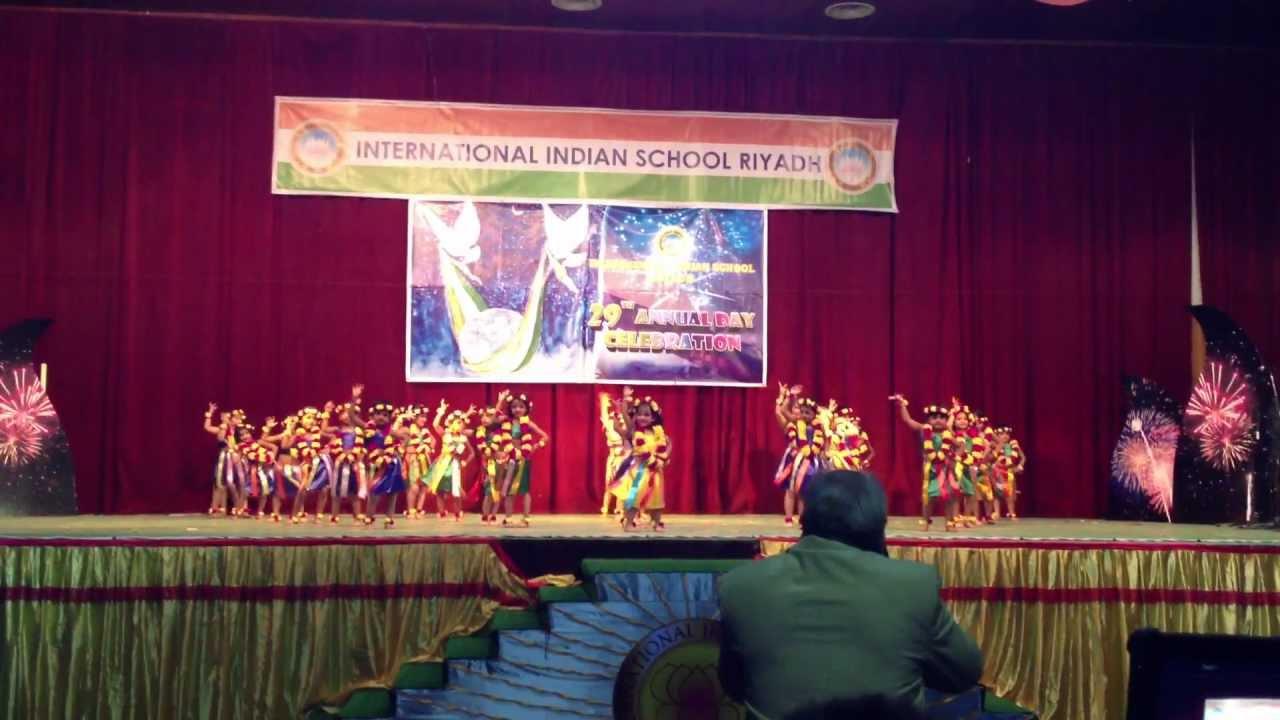 Annual Day Celebration In International Indian School Iisr Riyadh