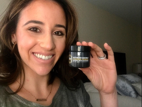 Natural Teeth Whitening : Activated Coconut Charcoal Powder Review | Carlyhak