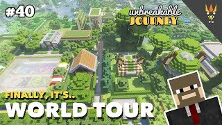 WORLD TOUR + Download Map! - Minecraft Indonesia #40