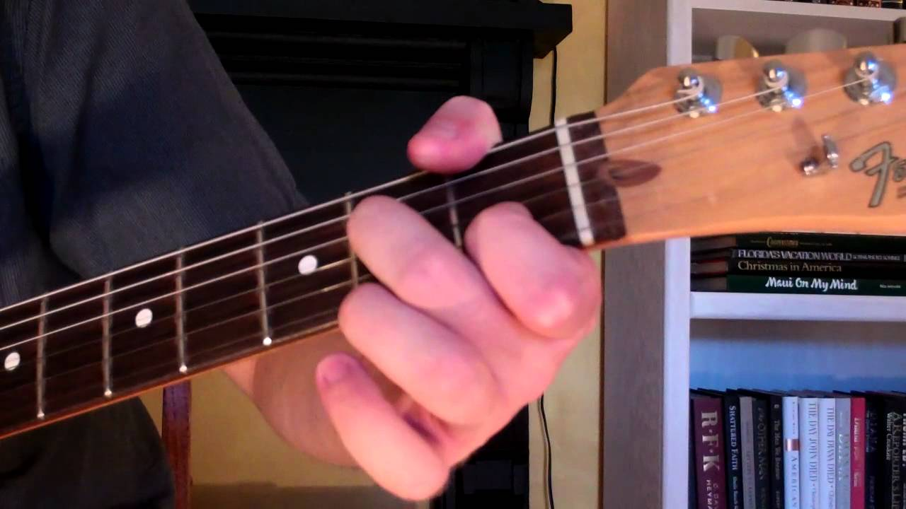 How To Play The D9 Chord On Guitar D Ninth 9th Youtube
