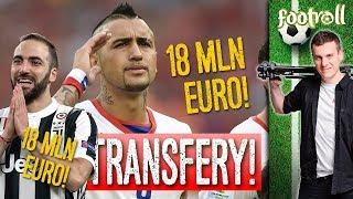 Vidal w Barcelonie! TOP 10 transferów tygodnia.