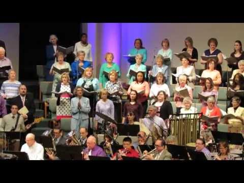 "65 CALVARY CHURCH CHOIR ""CHRIST IS RISEN, HE IS RISEN INDEED"" EASTER SUNDAY 2015"