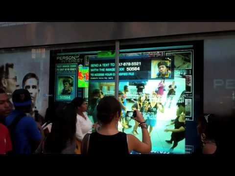 Person of Interest - Interactive Digital Display