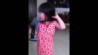 Cute Vietnamese Baby Singing