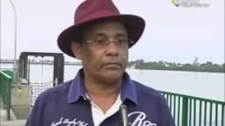 RTG /Le ministre d`Etat chargé de la pêche Gabriel TCHANGO était dans la province du moyen Ogooue