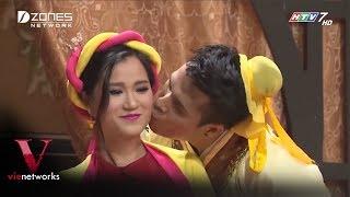 Lâm Vỹ Dạ ngại ngùng khi được trai đẹp hôn - Hài Lâm Vỹ Dạ, Trấn Thành 2018
